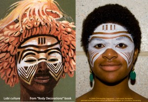 Tribal Face African Paint Meanings