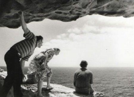 David Franklin, Skye Wansey and John Howard in The Gap