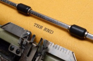 Avoid formatting mistakes - The end text on typewriter