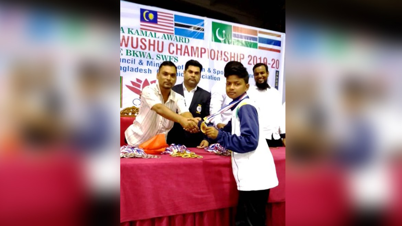 Wushu Champion Ritu Raj