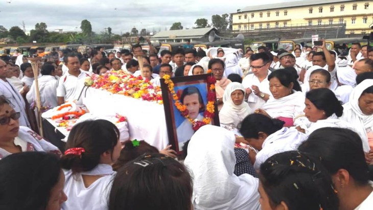 Protests after Babysana's death trigger in Manipur