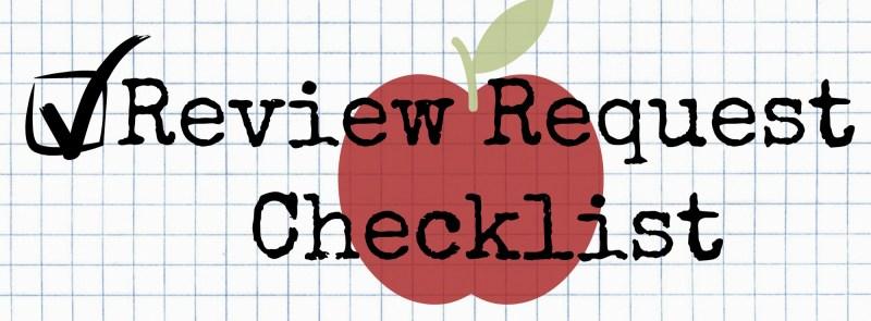 Review Request Checklist
