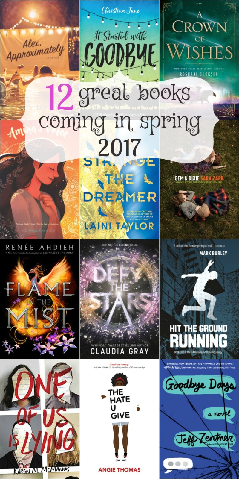 Best Books in Spring 2017