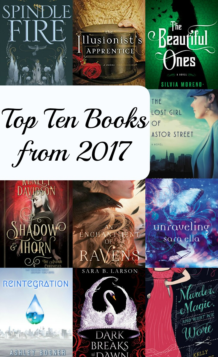 Top Ten Books from 2017 - The Story Sanctuary