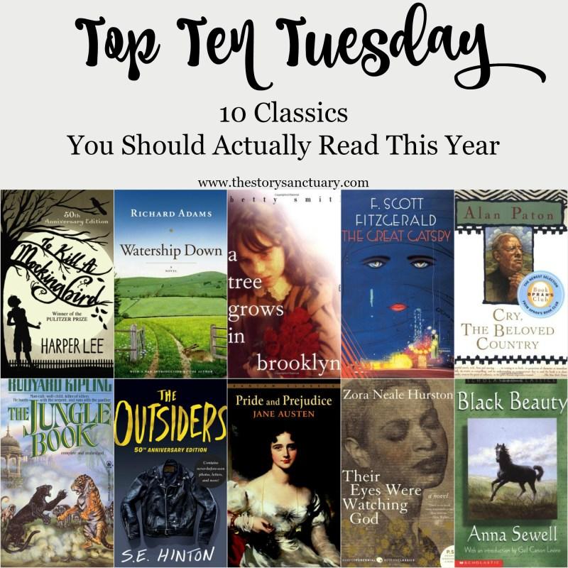 Top Ten Classics to Read