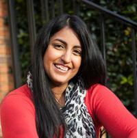 Aisha Saeed, author of Aladdin: Far From Agrabah