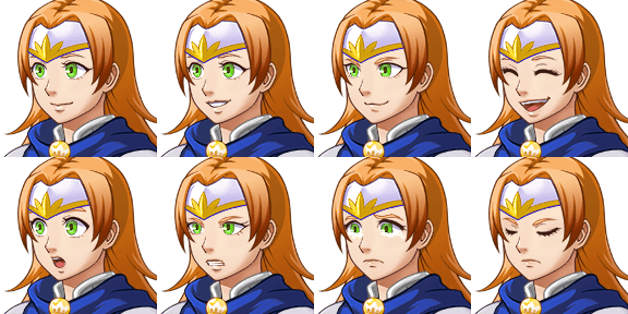 Faceset matching stock sprite Actor1_2 from RPG Maker MV (includes version for XP/VX) (1/2)