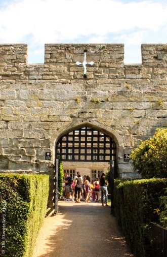 view through gate