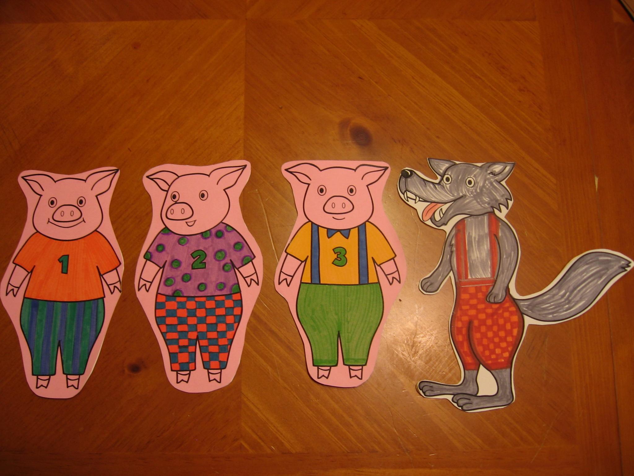 Pig Flannelboard