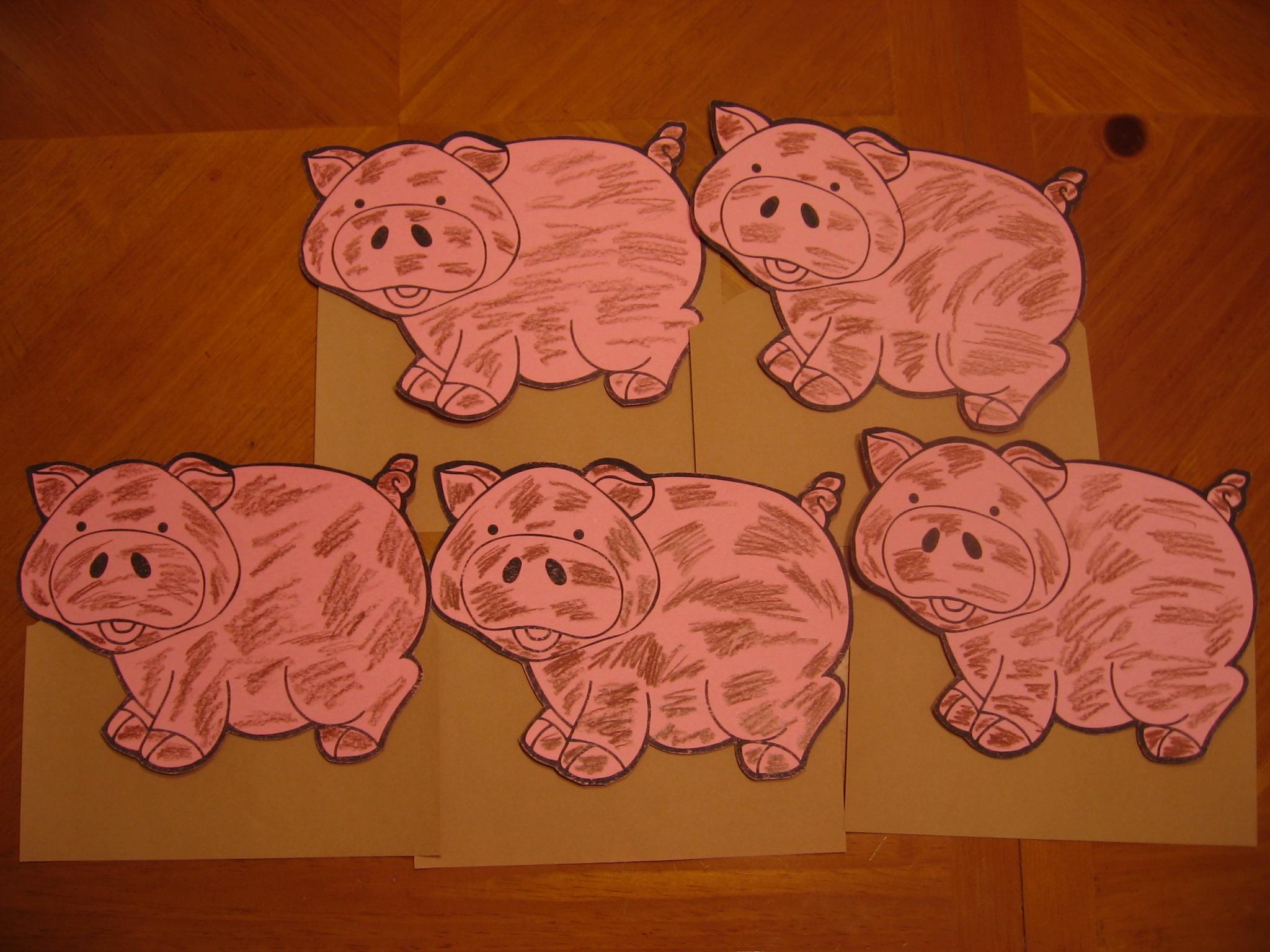Pig Activities For Kids