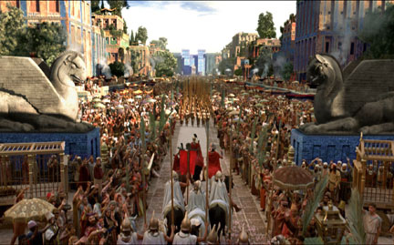 """The city of Babylon (from the movie """"Alexander"""")"""