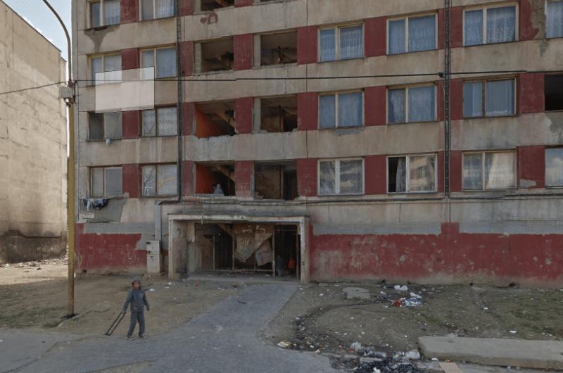 A modern Romani ghetto in Romania