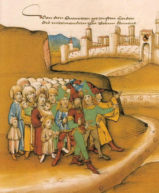 Romani people in the early Middle Ages