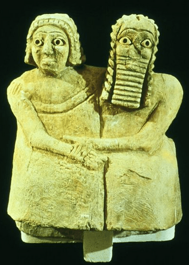 A Sumerian couple