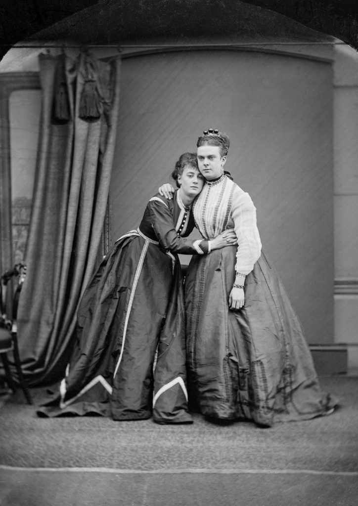 Fanny and Stella, a.k.a. Ernest Boulton and Frederick Park