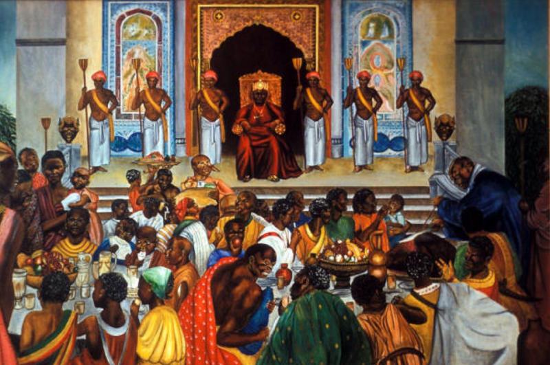 The Wagadu throne room