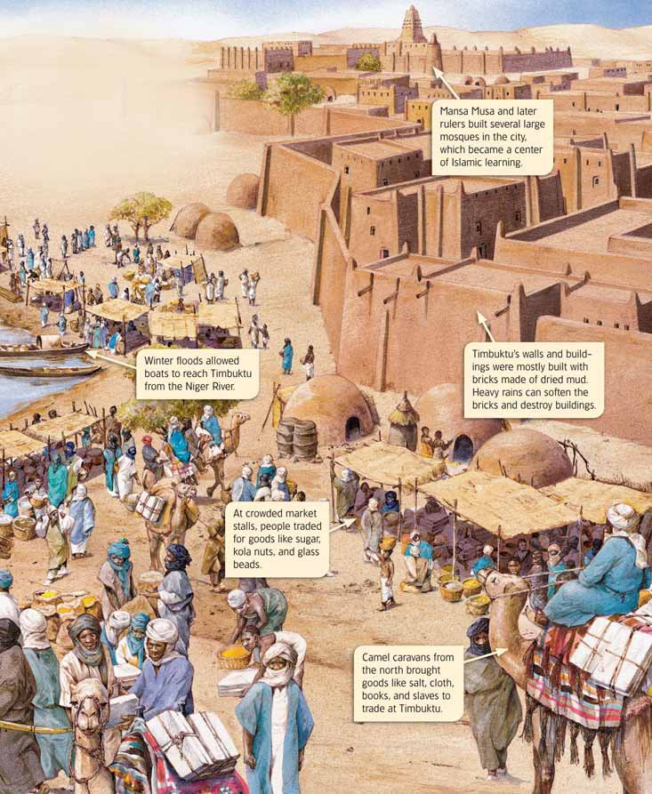 Daily life in Timbuktu