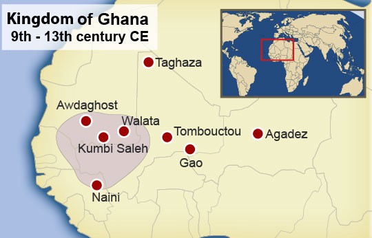 The Kingdom of Wagadu—or Ghana—at its height