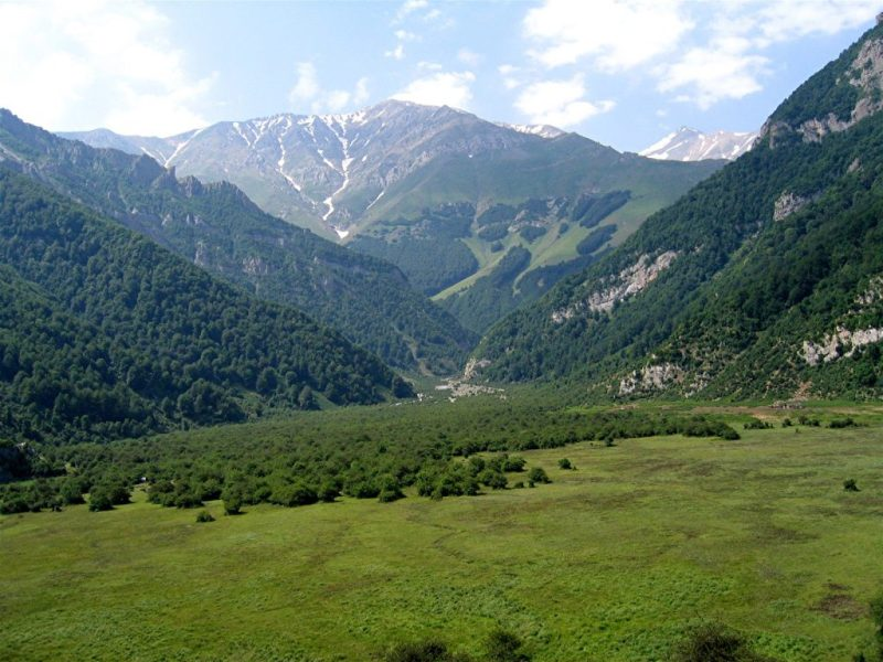 Darya Sar, in the Elburz Mountains of modern Iran.