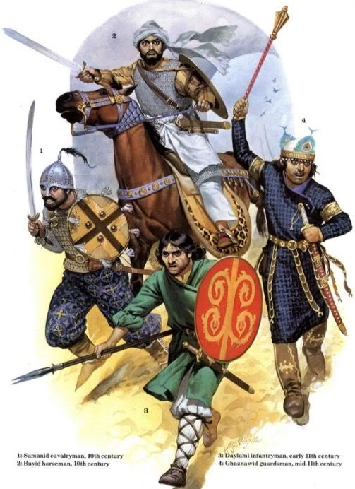 Warriors of the Iranian Intermezzo period.