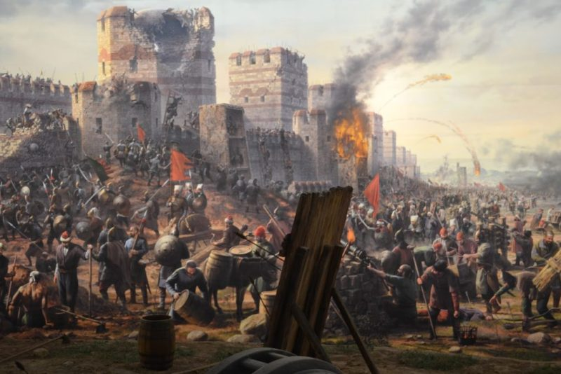 Mongols lay siege to the city of Baghdad.