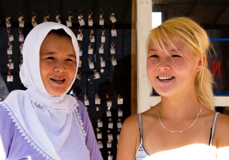 Uzbek women in Kyrgyzstan