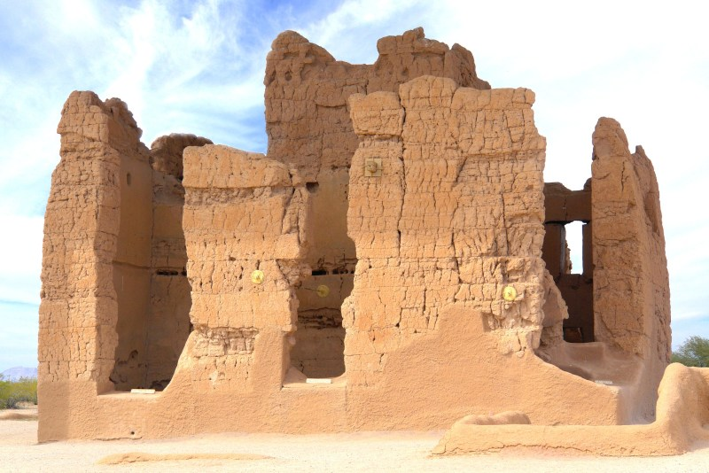 Ruins at Casa Granda, Arizona