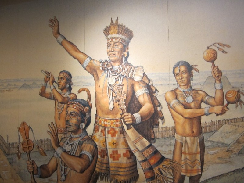 A chief of the Mississippian people at Cahokia