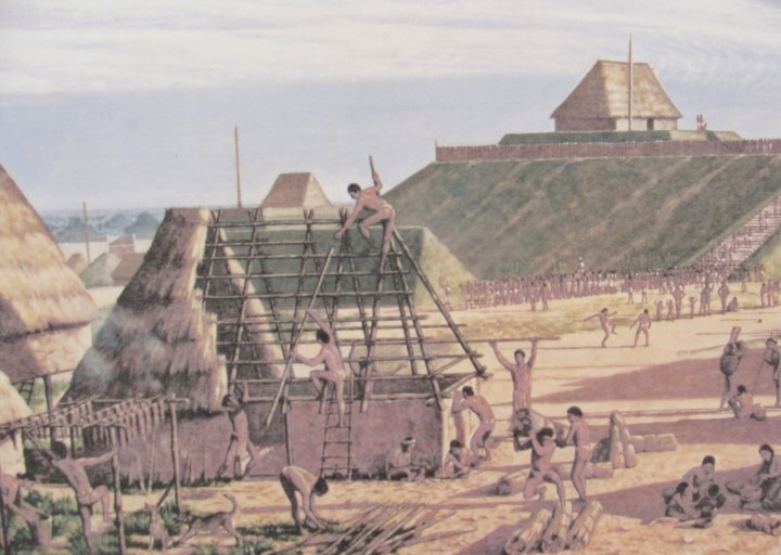 A Mississippian House In The City Of Cahokia Missouri