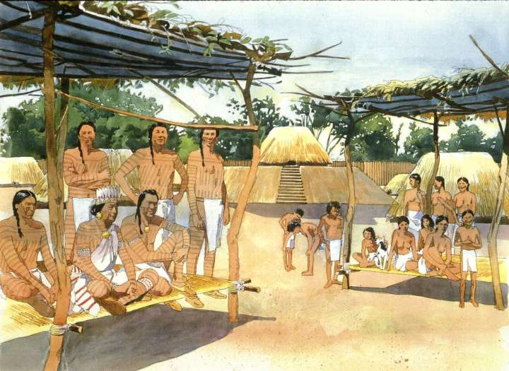 People of the Mississippian city of Cahokia, in Missouri