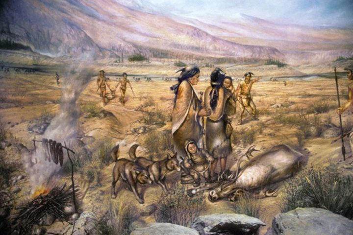 Navajo people arriving in Colorado in the 1400s