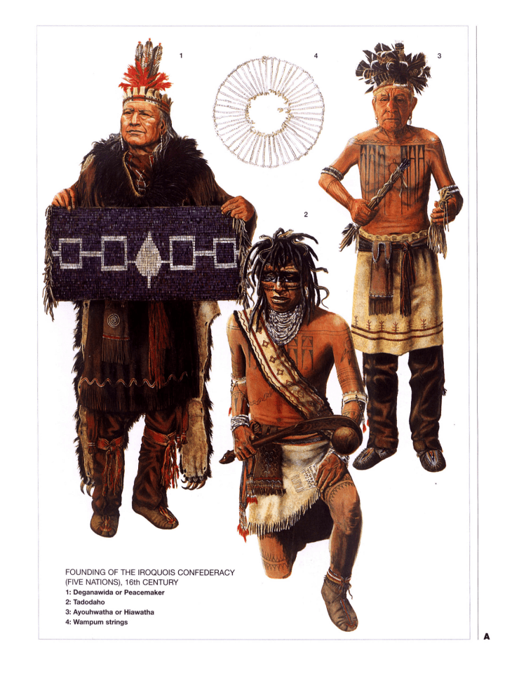 The Peacemaker, Hiawatha, and Todadaho
