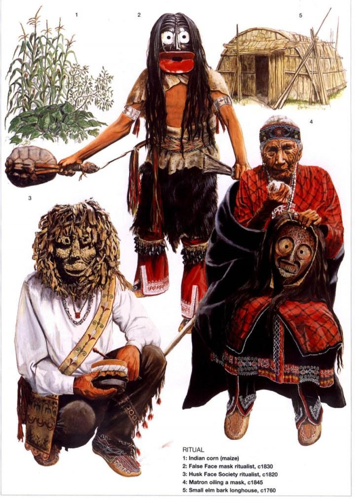 False Face Masks of the Haudenosaunee (Iroquois)