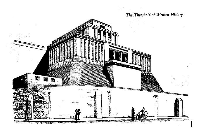 The Great Ziggurat at Ur