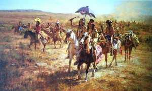 Comanche riders