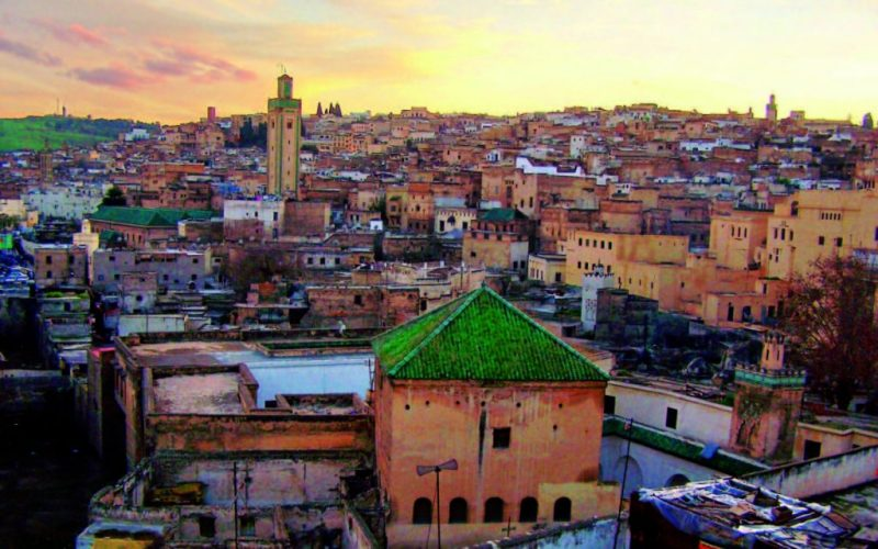 The City of Marrakech, in modern Morocco