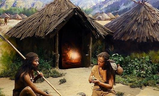 Craftspeople in a Banpo village, circa 3000 BCE
