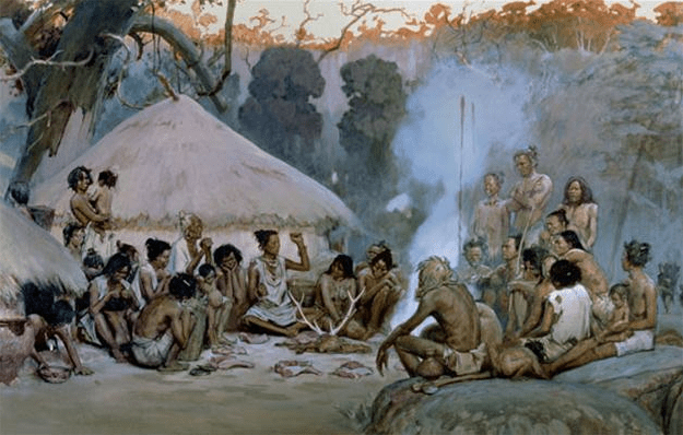 People at the neolithic village of Banpo