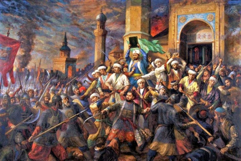 Kul Sharif at the Siege of Kazan