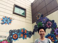 Art mural in Bonifacio Global City