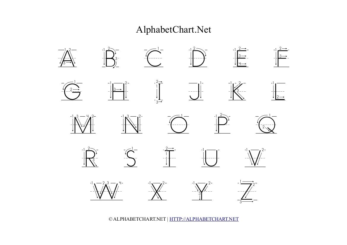 Alphabet Of Arrows Thestrangemythworld