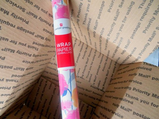Mothers day care package for the mom in your life this american greetings wrapping paper was the first thing that caught my eye and was my inspiration when designing this care package m4hsunfo