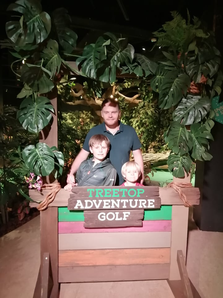 treetop adventure golf in Manchester