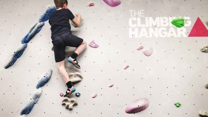 the climbing hangar