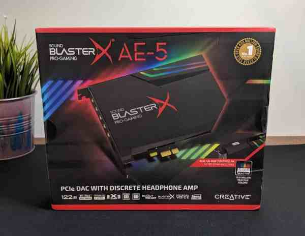 Creative Sound BlasterX AE-5 Sound Card Review - The ...