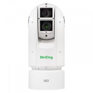 BIRDDOG EYES A300 IP67 EXTREME WEATHERPROOF FULL NDI PTZ CAMERA W/SONY SENSOR & SDI (WHITE)