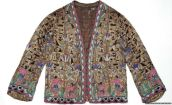 Hand-beaded lurex jacket with Egyptian motifs, Paris, France, 1922-25. Museum no. T.91-1999