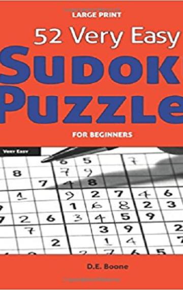 52 Very Easy Sudoku Puzzles