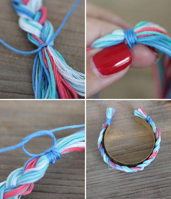 DIY-Braided-Cuff-Bracelet-Steps-9-12