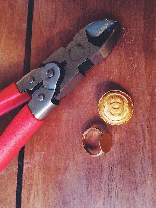 DIY Chanel Ring Materials
